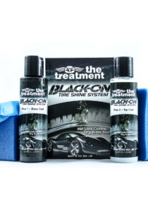 BLACK-ON ™ Tire Shine System