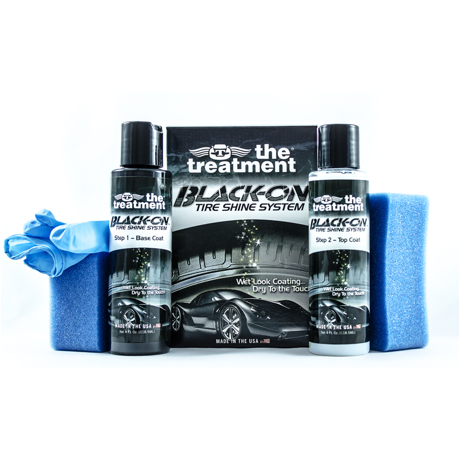 The Treatment Black On Tire Shine System