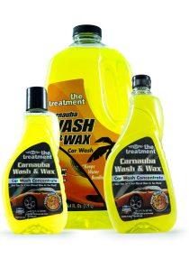 Concentrado de lavado de autos Wash & Wax