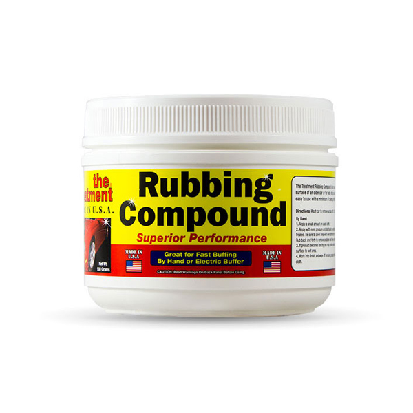 the treatement rubbing compound