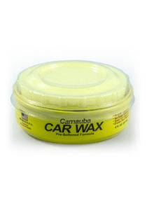 Carnauba Paste Wax Can