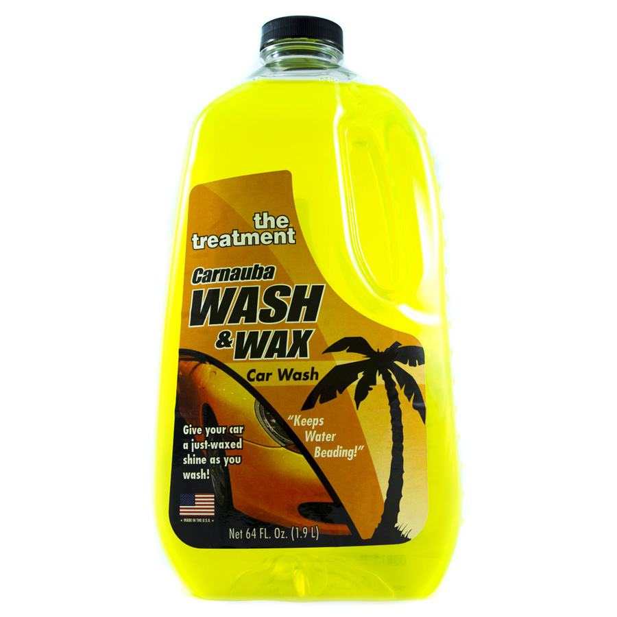 Car Wash And Wax All In One