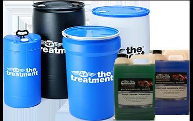 Los limpiadores y desengrasantes de la serie Treatment Pro